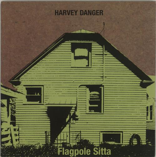 "Harvey Danger Flagpole Sitta 7"" vinyl single (7 inch record) UK HVD07FL687624"