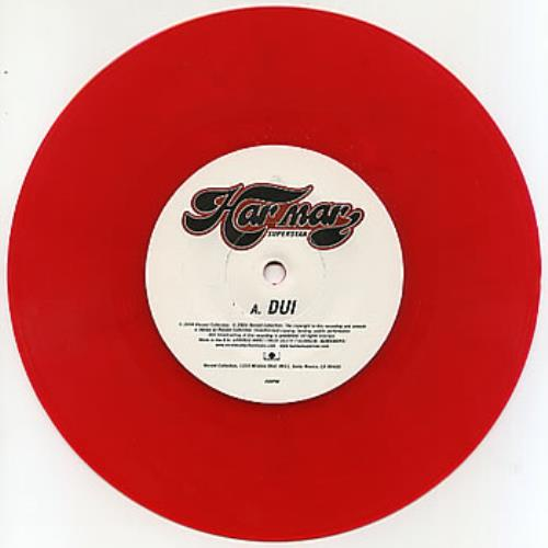 "Har Mar Superstar Dui [Dial Under The Influence] 7"" vinyl single (7 inch record) UK HMA07DU298598"