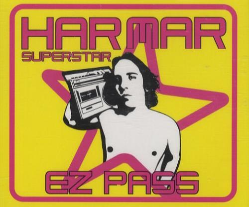 "Har Mar Superstar Ez Pass CD single (CD5 / 5"") UK HMAC5EZ248863"