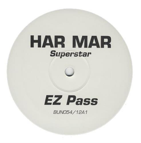 "Har Mar Superstar EZ Pass 12"" vinyl single (12 inch record / Maxi-single) UK HMA12EZ400465"