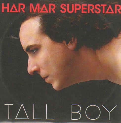 Har Mar Superstar Tall Boy CD-R acetate UK HMACRTA649083