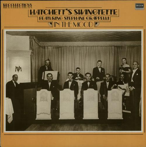 Hatchett's Swingtime In The Mood vinyl LP album (LP record) UK HT8LPIN567001