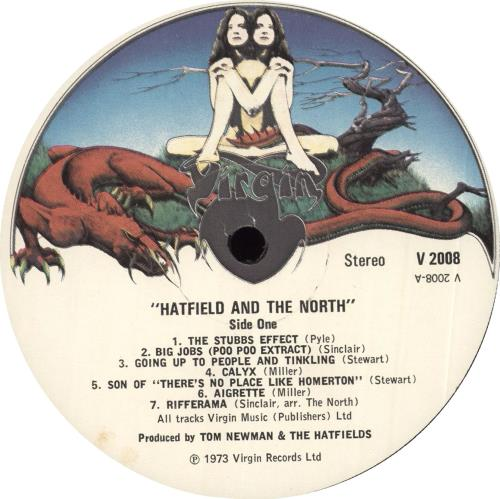 Hatfield And The North Hatfield And The North - EX vinyl LP album (LP record) UK HTFLPHA714156