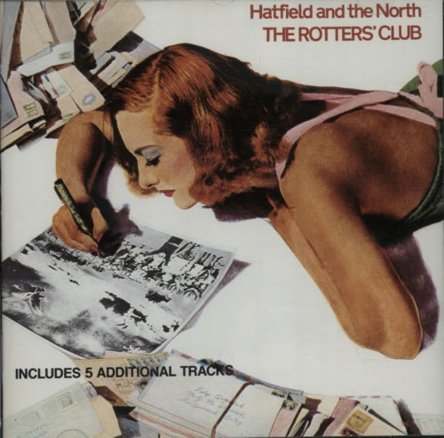 Hatfield And The North The Rotters' Club CD album (CDLP) UK HTFCDTH609016