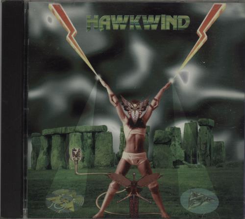 Hawkwind 25 Years On 1977 - 1986 CD album (CDLP) Canadian HWKCDYE669635