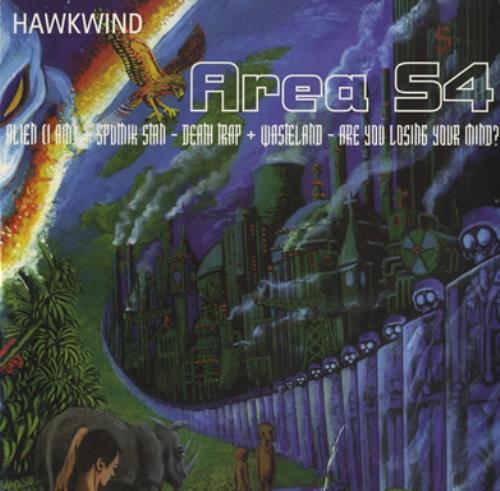 "Hawkwind Area S4 EP 12"" vinyl single (12 inch record / Maxi-single) UK HWK12AR245453"
