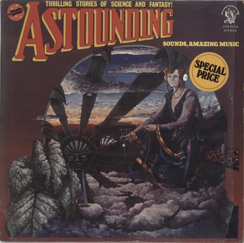 Hawkwind Astounding Sounds, Amazing Music + Inner vinyl LP album (LP record) UK HWKLPAS665985