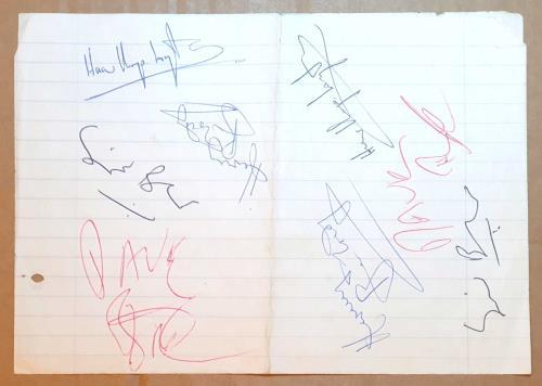 Hawkwind Autographs memorabilia UK HWKMMAU750877