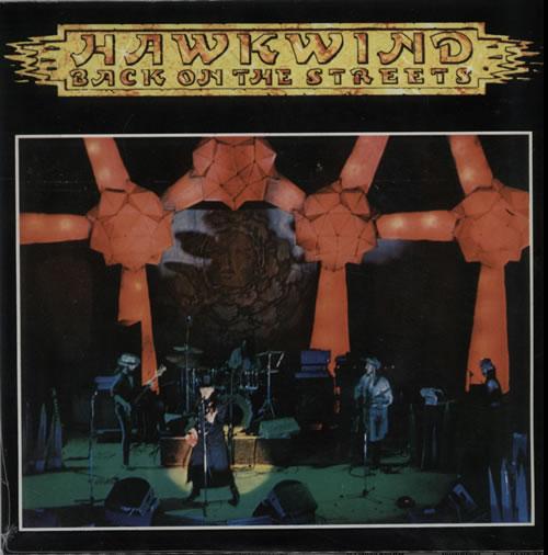 "Hawkwind Back On The Streets - RSD15 - White Vinyl - Sealed 7"" vinyl single (7 inch record) UK HWK07BA629118"