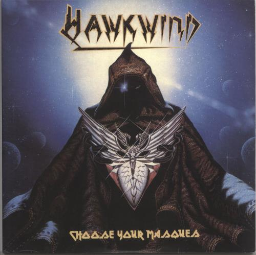 Hawkwind Choose Your Masques - 180gm Clear 2-LP vinyl record set (Double Album) UK HWK2LCH730573