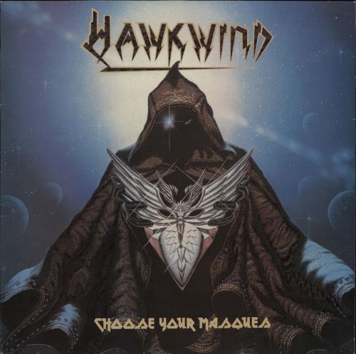 Hawkwind Choose Your Masques vinyl LP album (LP record) UK HWKLPCH372062