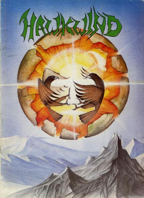 Hawkwind Earth Ritual + Ticket tour programme UK HWKTREA558048