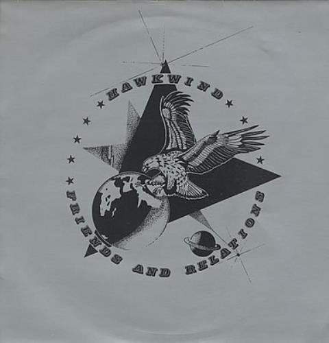 Hawkwind Friends & Relations vinyl LP album (LP record) UK HWKLPFR372094