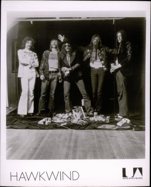 Hawkwind Hall Of The Mountain Grill - Press Pack media press pack US HWKPPHA534794