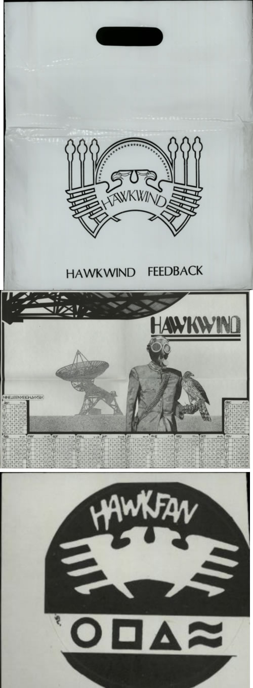 Hawkwind Hawkfan 12 - Complete vinyl LP album (LP record) UK HWKLPHA588819