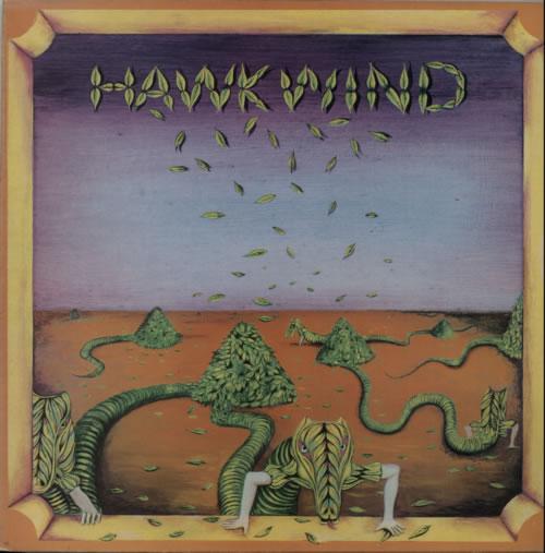 Hawkwind Hawkwind - 2nd vinyl LP album (LP record) UK HWKLPHA210495