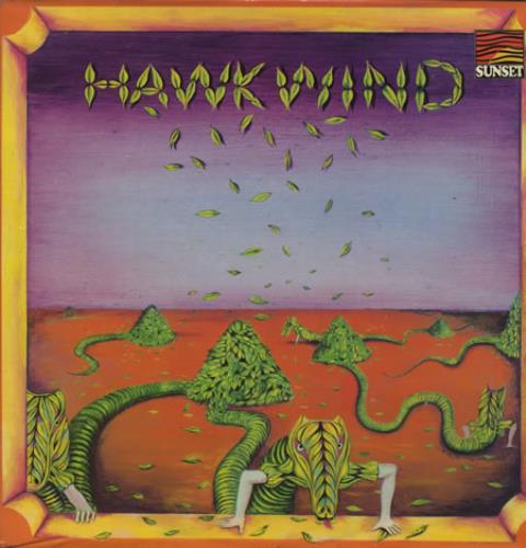 Hawkwind Hawkwind - '75 Issue vinyl LP album (LP record) UK HWKLPHA264300