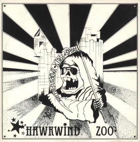 "Hawkwind Hawkwind Zoo EP + merchandise insert 12"" vinyl single (12 inch record / Maxi-single) UK HWK12HA339262"