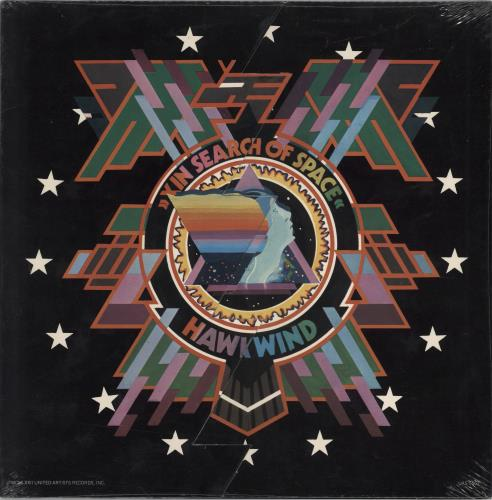 Hawkwind In Search Of Space - Sealed vinyl LP album (LP record) US HWKLPIN522504