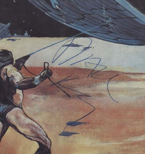 Hawkwind Monmore Rock - Autographed tour programme UK HWKTRMO669383