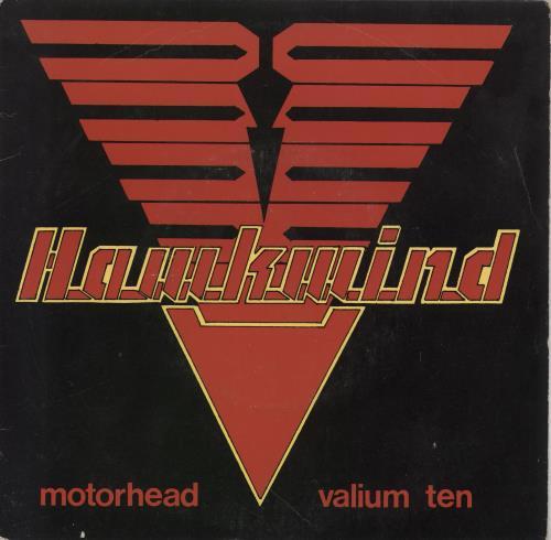 "Hawkwind Motorhead + Insert 7"" vinyl single (7 inch record) UK HWK07MO91559"