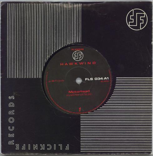 "Hawkwind Motorhead 7"" vinyl single (7 inch record) UK HWK07MO767821"