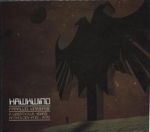 Hawkwind Parallel Universe 3-CD album set (Triple CD) UK HWK3CPA669543