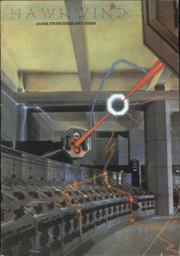 Hawkwind Quark Strangeness And Charm tour programme UK HWKTRQU369556