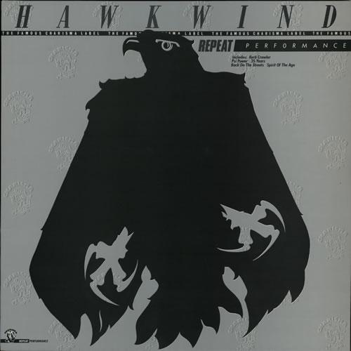 Hawkwind Repeat Performance vinyl LP album (LP record) UK HWKLPRE566469
