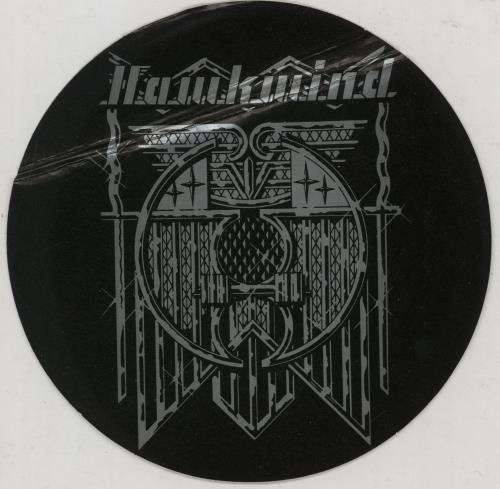 Hawkwind Roadhawks + Sticker vinyl LP album (LP record) UK HWKLPRO754410