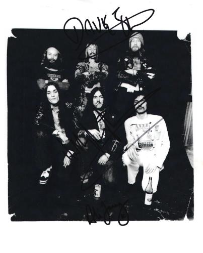 Hawkwind Signed Photograph photograph UK HWKPHSI716039