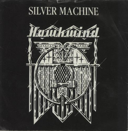 "Hawkwind Silver Machine - 3rd - EX 7"" vinyl single (7 inch record) UK HWK07SI685982"