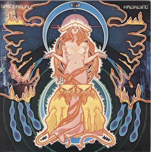 Hawkwind Space Ritual - 2nd 2-LP vinyl record set (Double Album) UK HWK2LSP729976