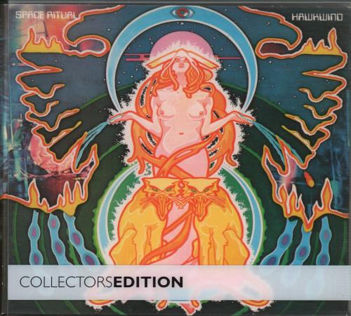 Hawkwind Space Ritual Collectors Edition 3-disc CD/DVD Set UK HWK3DSP404737