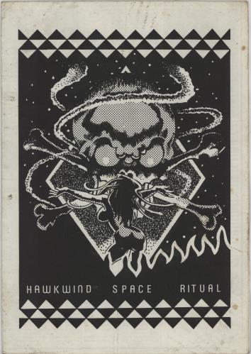 Hawkwind Space Ritual tour programme UK HWKTRSP588872