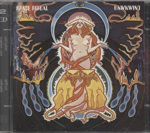 Hawkwind Space Ritual 2 CD album set (Double CD) UK HWK2CSP748207