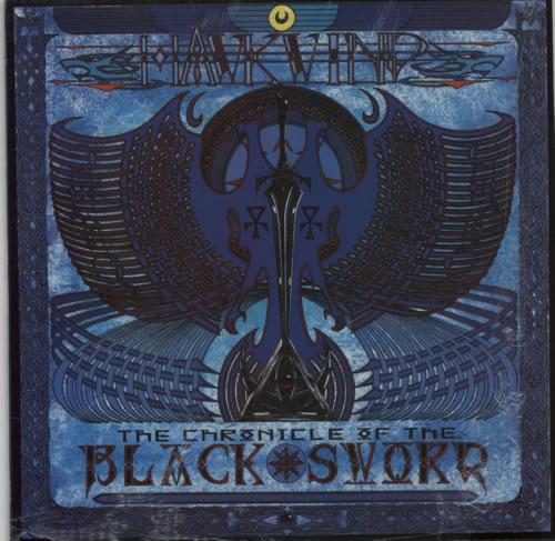 Hawkwind The Chronicle Of The Black Sword vinyl LP album (LP record) UK HWKLPTH590889