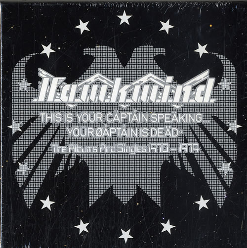 Hawkwind This Is Your Captain Speaking... Your Captain Is Dead - Sealed Boxset CD Album Box Set UK HWKDXTH631655