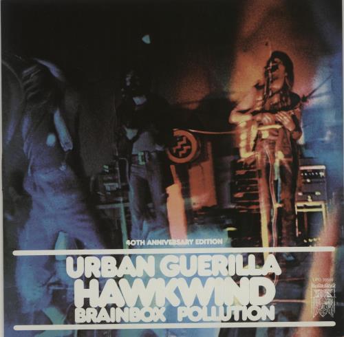 "Hawkwind Urban Guerilla - RSD13 7"" vinyl single (7 inch record) UK HWK07UR683134"