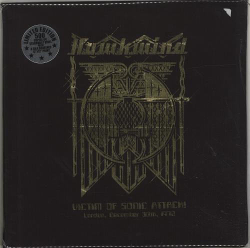 Hawkwind Victim Of Sonic Attack! London, December 30th, 1972 - Starburst Vinyl + Numbered 2-LP vinyl record set (Double Album) US HWK2LVI698794