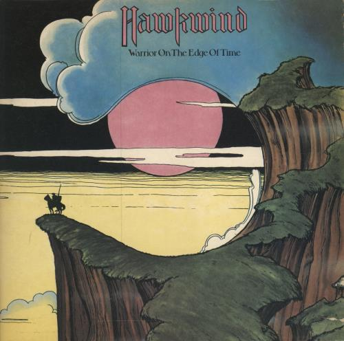 Hawkwind Warrior On The Edge Of Time - 1st - VG vinyl LP album (LP record) UK HWKLPWA568718