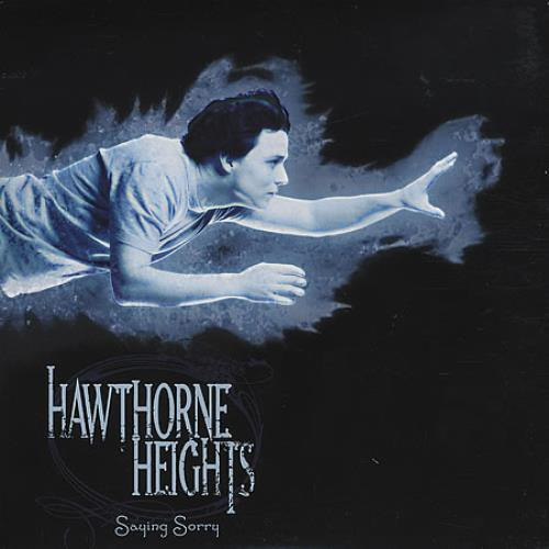 "Hawthorne Heights Saying Sorry - Blue Vinyl 7"" vinyl single (7 inch record) UK HHE07SA401624"