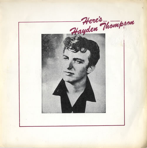 "Hayden Thompson Here's Hayden Thompson 7"" vinyl single (7 inch record) UK HKZ07HE614668"