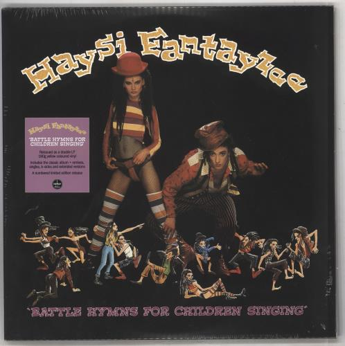 Haysi Fantayzee Battle Hymns For Children Singing - 180gram Yellow Vinyl - Sealed 2-LP vinyl record set (Double Album) UK HSI2LBA735523