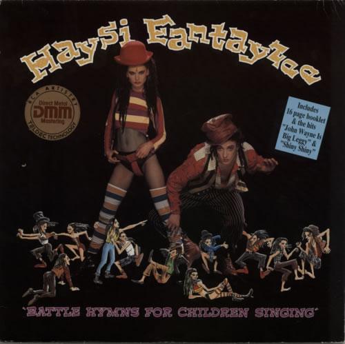 Haysi Fantayzee Battle Hymns For Children Singing vinyl LP album (LP record) German HSILPBA127669