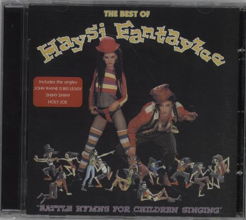 Haysi Fantayzee Battle Hymns For Children Singing CD album (CDLP) UK HSICDBA388840