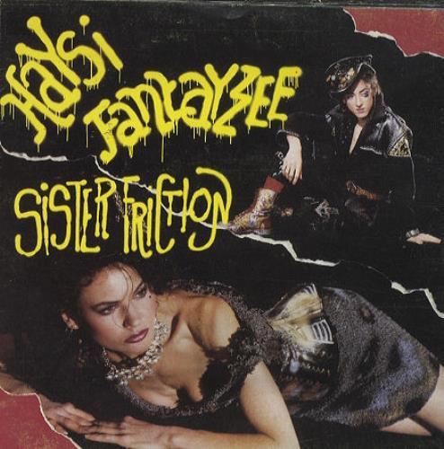 "Haysi Fantayzee Sister Friction - Poster Sleeve 7"" vinyl single (7 inch record) UK HSI07SI43957"