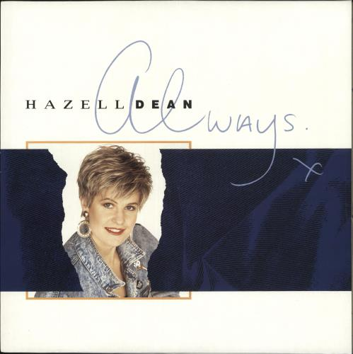 Hazell Dean Always + Inner vinyl LP album (LP record) UK HAZLPAL718967