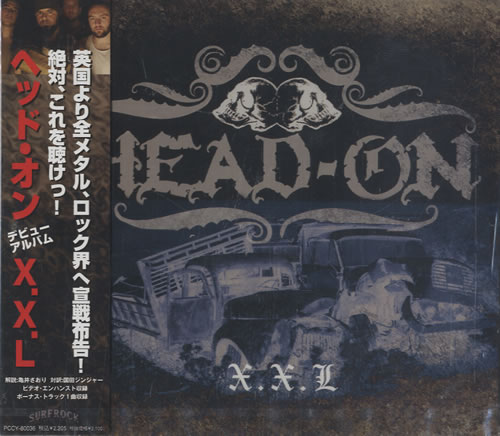 Head-On X.X.L CD album (CDLP) Japanese HF2CDXX470474