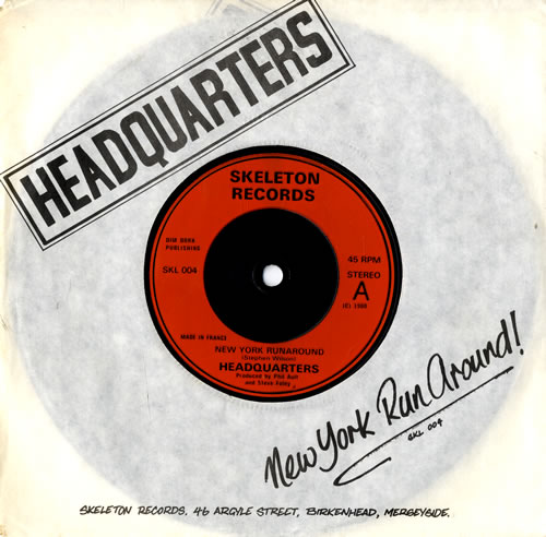 "Headquarters New York Runaround 7"" vinyl single (7 inch record) UK HKJ07NE559715"